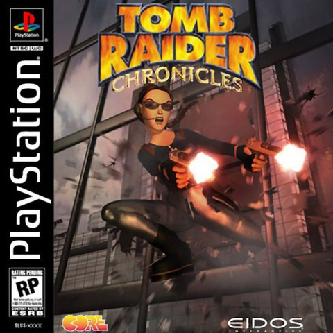 Box art - Tomb Raider Chronicles,Tomb Raider: Chronicles