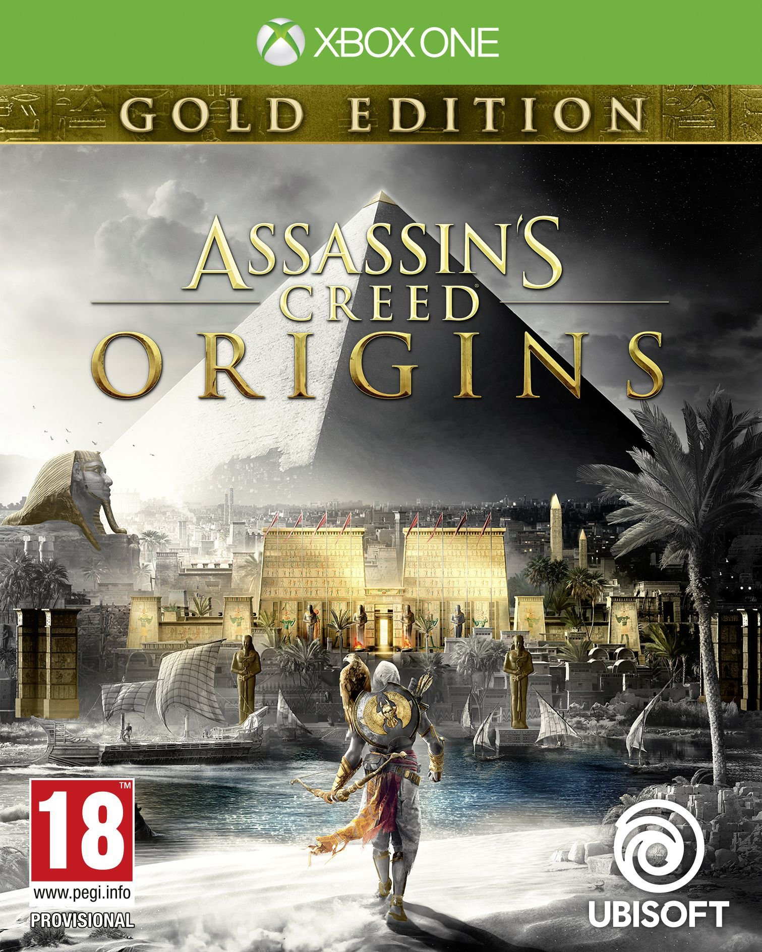Box art - Assassin's Creed Origins