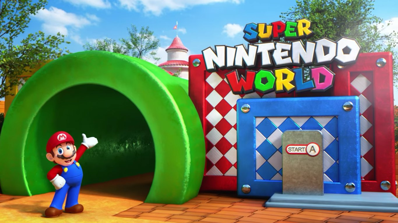 Nintendo Trailers Hey Pikmin And Super Nintendo World Are