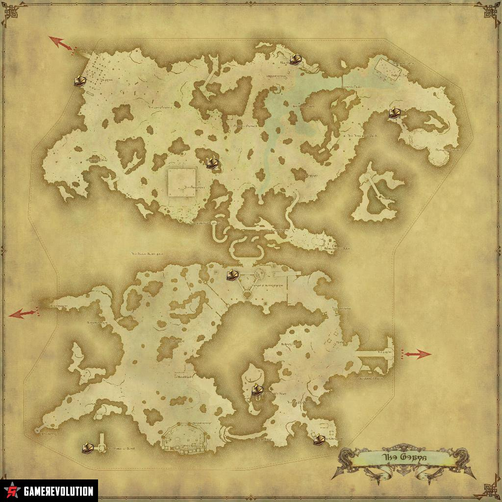 FFXIV: Stormblood - The Location of All Sightseeing Logs