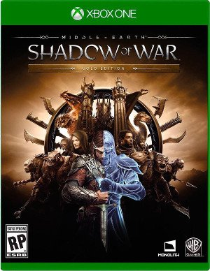 Box art - Middle-Earth: Shadow of War