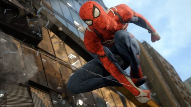 most anticipated games 2018 spiderman