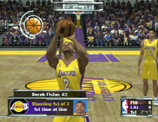NBA Courtside 2002 Review
