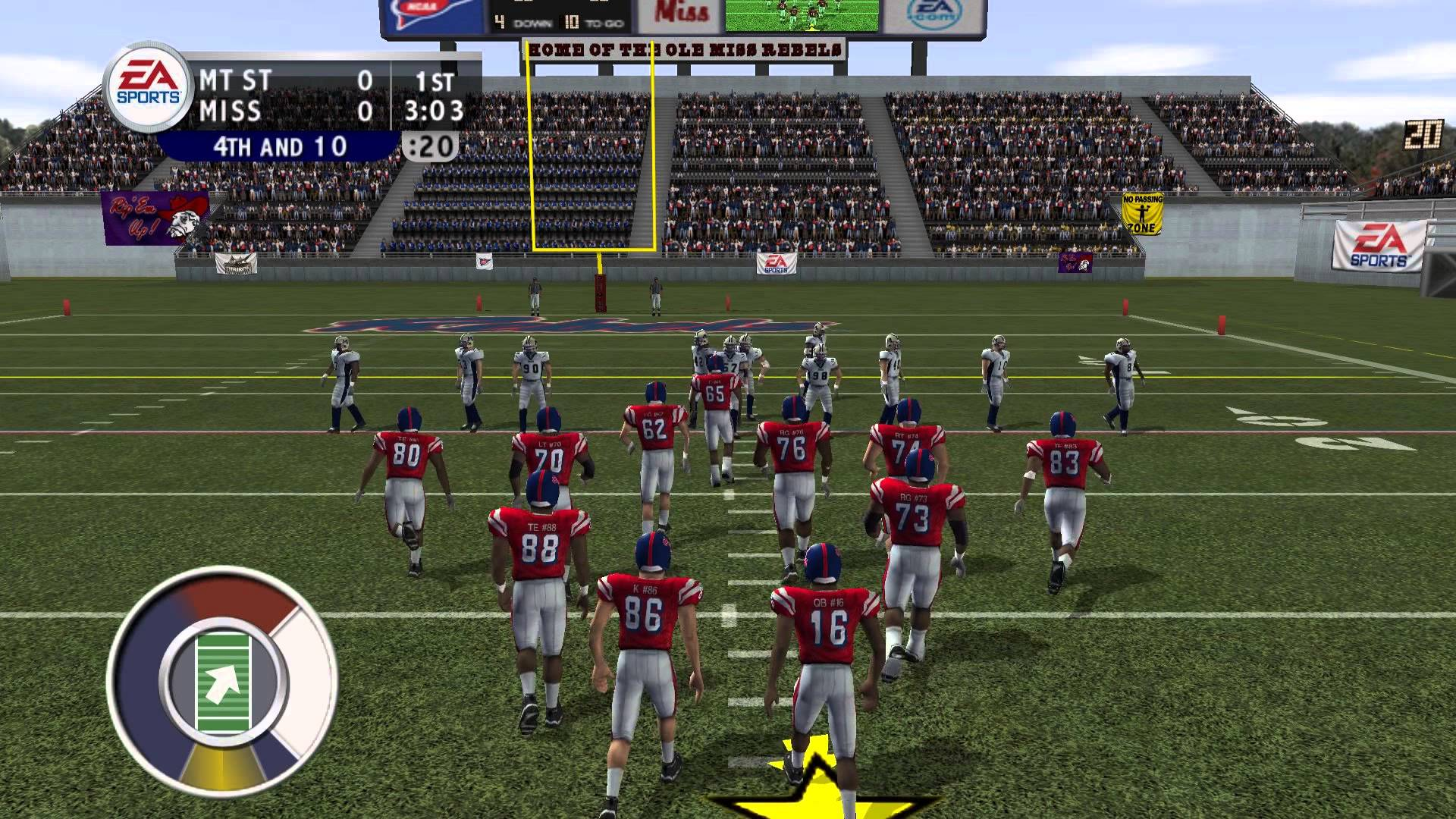 NCAA Football 2004 Review