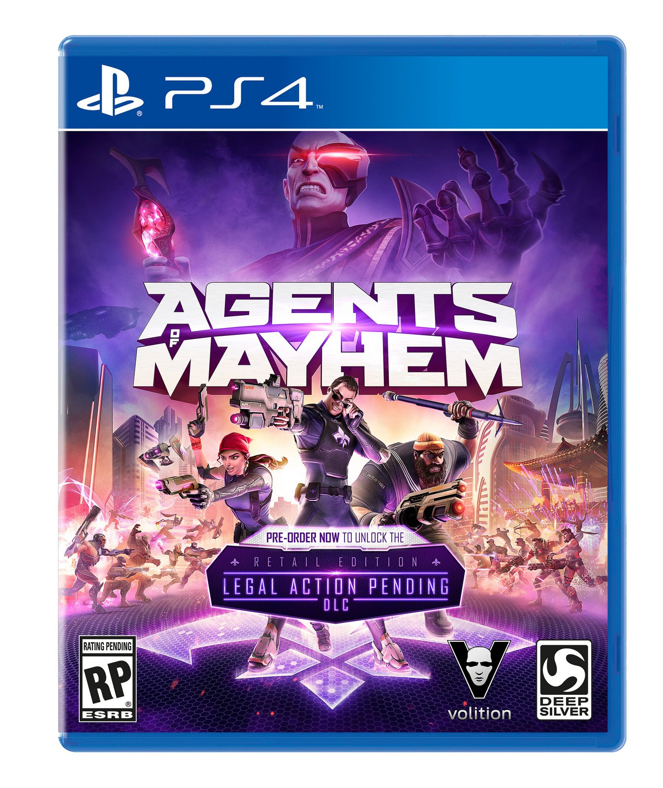 Box art - Agents of Mayhem