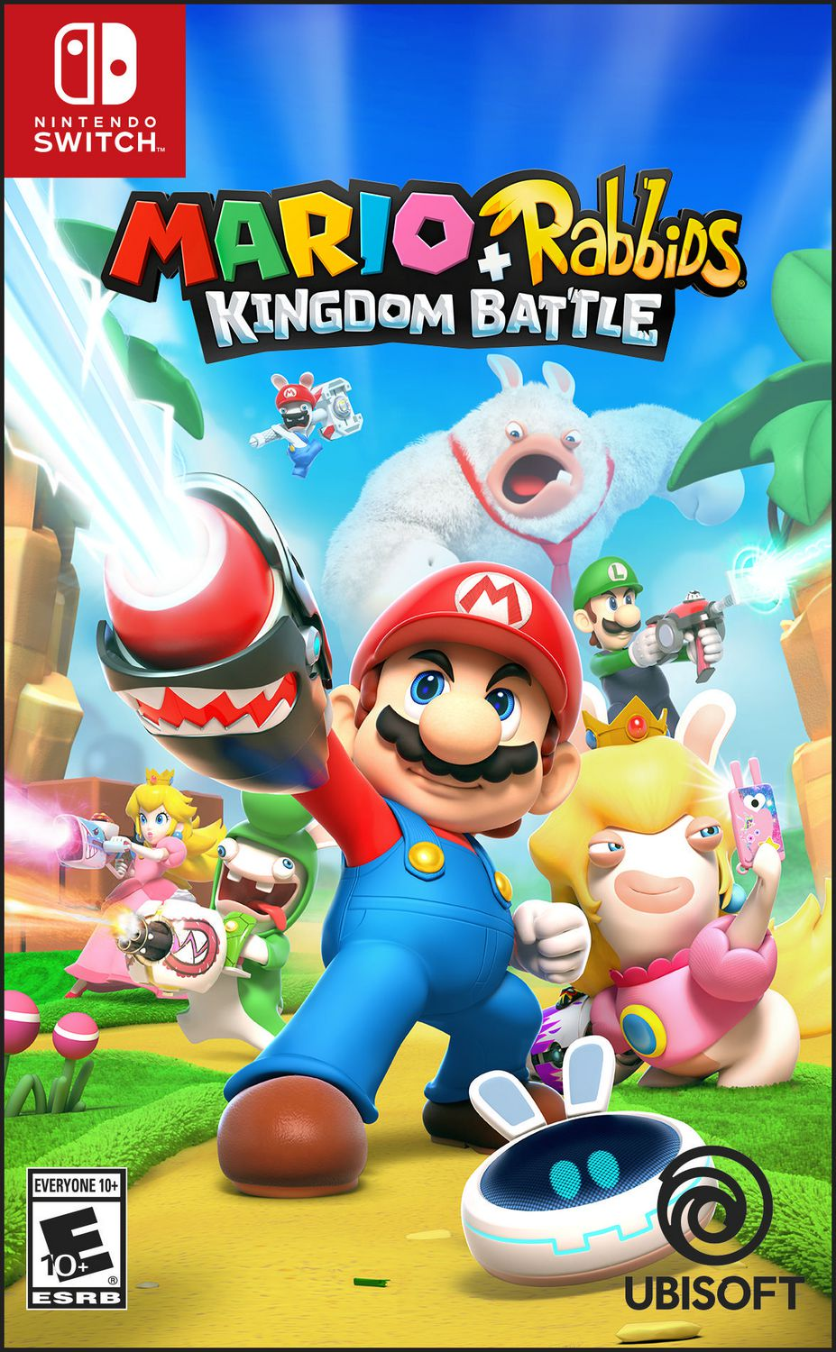 Box art - Mario + Rabbids Kingdom Battle