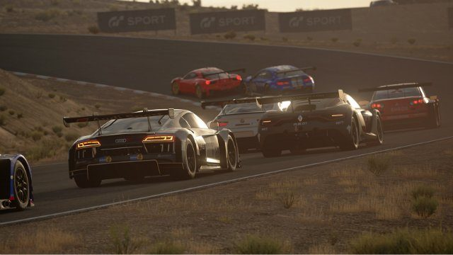 GT Sport Review Race Around Curve
