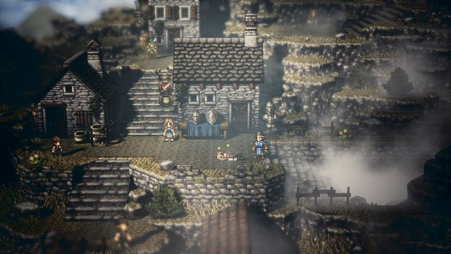 octopath traveler new game plus