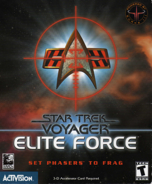 Box art - Star Trek Voyager: Elite Force