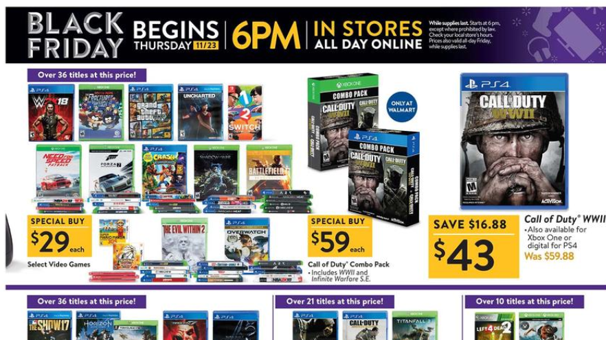 All Black Friday 2017 Ads Walmart Target Best Buy And More