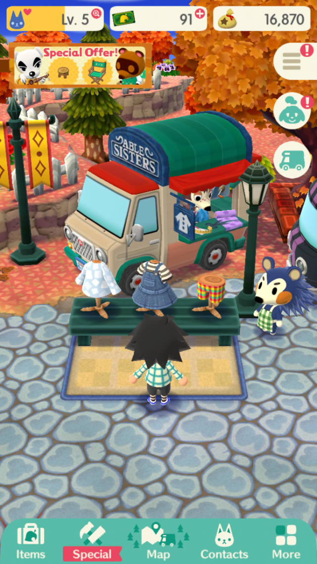 Animal Crossing Pocket Camp Clothes Guide