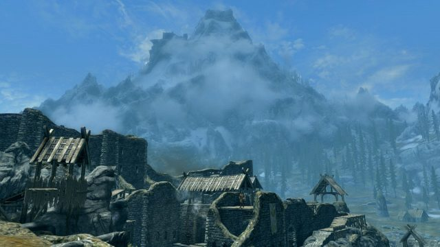 Skyrim Switch Review Mountain