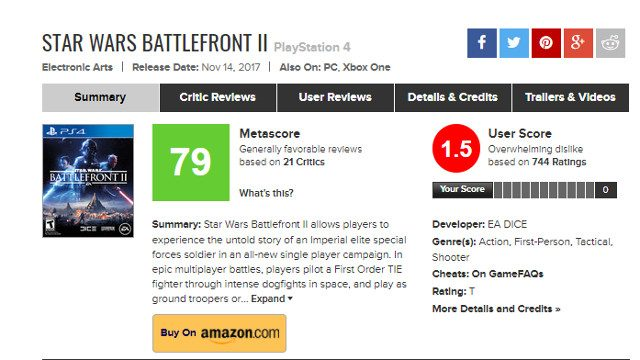 battlefront-2-review-bombed
