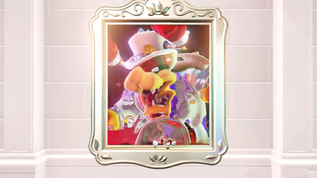 Super Mario Odyssey Hard Bowser Painting