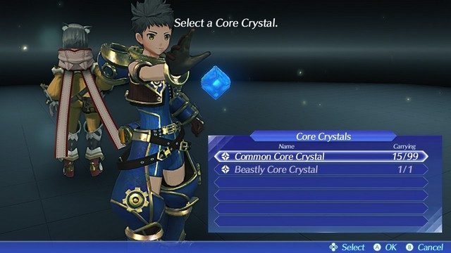 Xenoblade Chronicles 2 Core Crystals