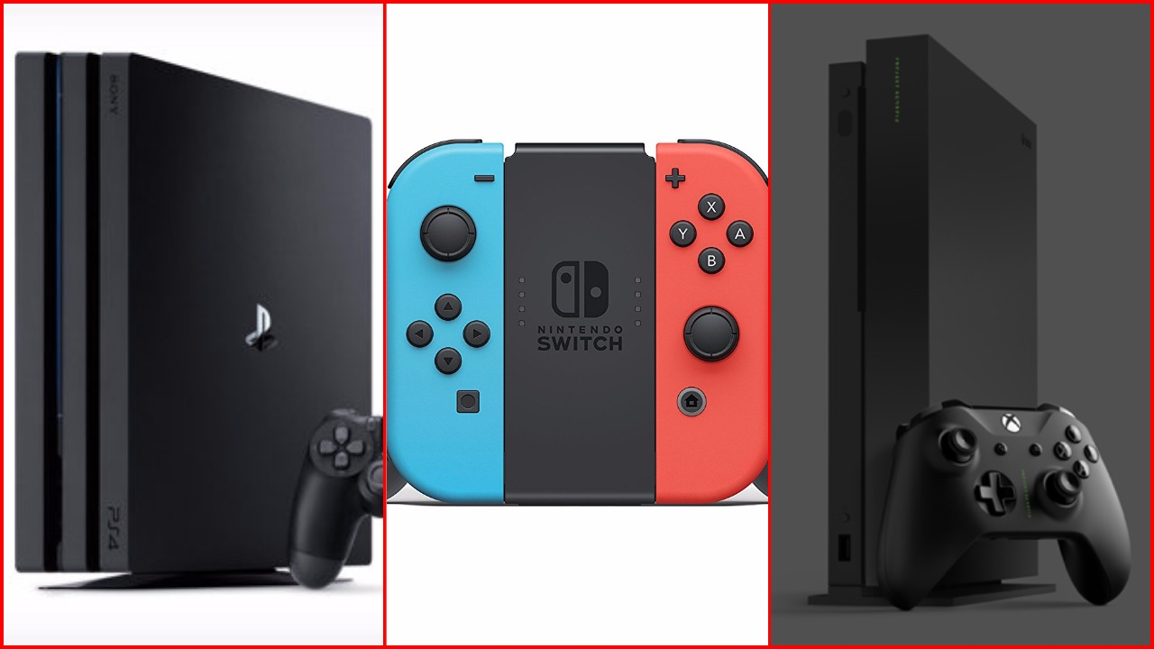 PS4 vs Nintendo Switch vs Xbox One: Which Console Had the Best 2017? -  GameRevolution