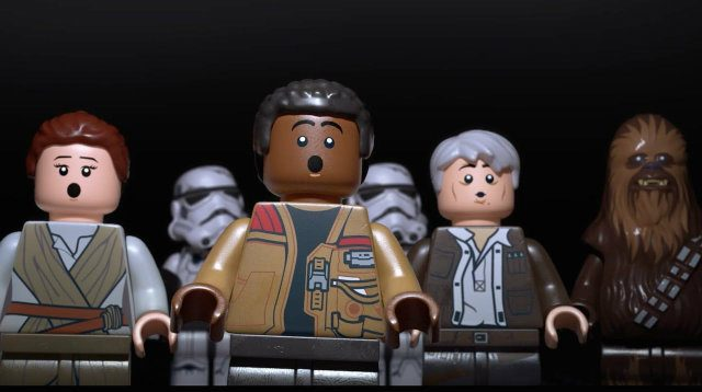 LEGO Star Wars The Force Awakens Oh No You Didnt