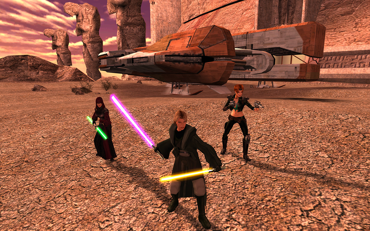 Star Wars Movie KOTOR Knights of the Old Republic