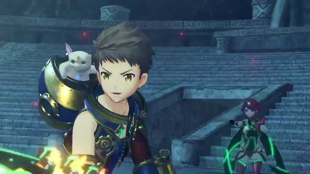 Xenoblade Chronicles 2 Pyra and Rex Confusion Ivy