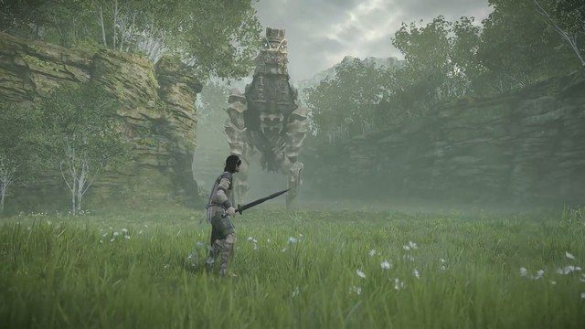Shadow of the Colossus - 3nd Colossus