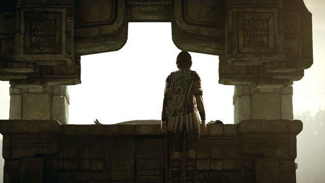 Shadow of the Colossus - Wanderer and Girl