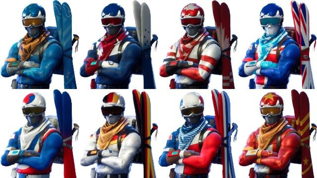 Canada Alpine Ace Fortnite Fortnite Alpine Ace Ski Skins How To Get The New Cosmetics In Battle Royale Gamerevolution