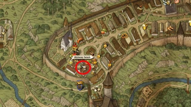 Kingdom Come Deliverance Mysterious Ways Rattay Scribe Map
