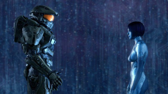 video game couples master chief cortana