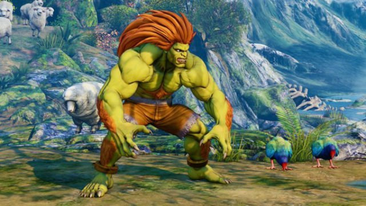 Street Fighter 5 Arcade Edition New Dlc Update Sees Blanka Power