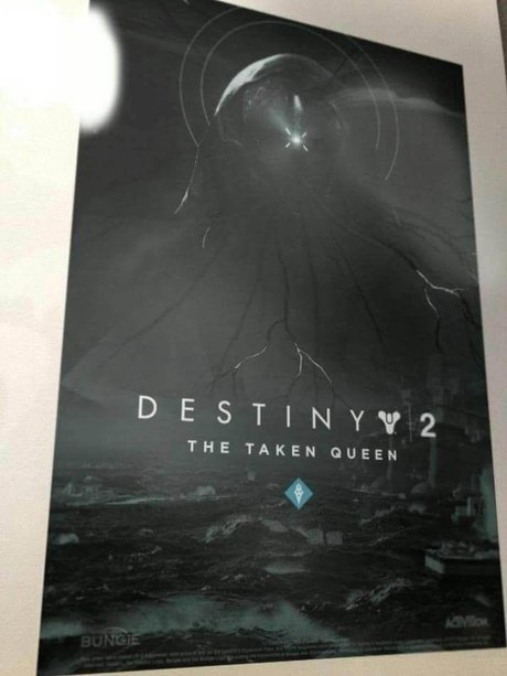 Destiny 2 The Taken Queen DLC Leak