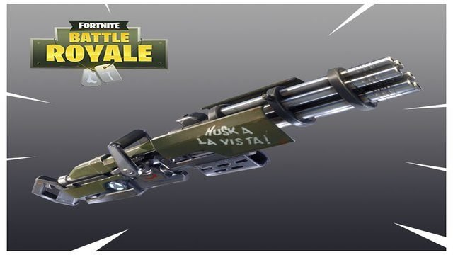 When Does the minigun come out in Fortnite?
