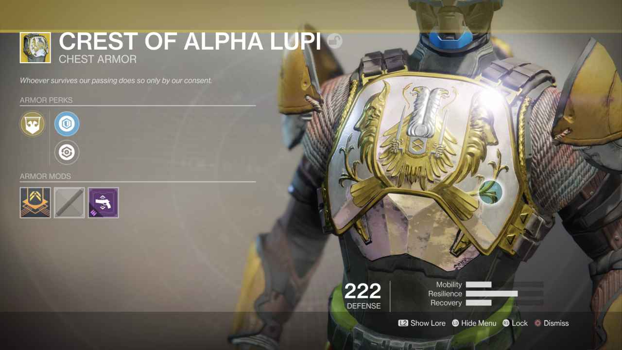 Destiny 2 Crest of Alpha Lupi: All Abilities and Why You Need This