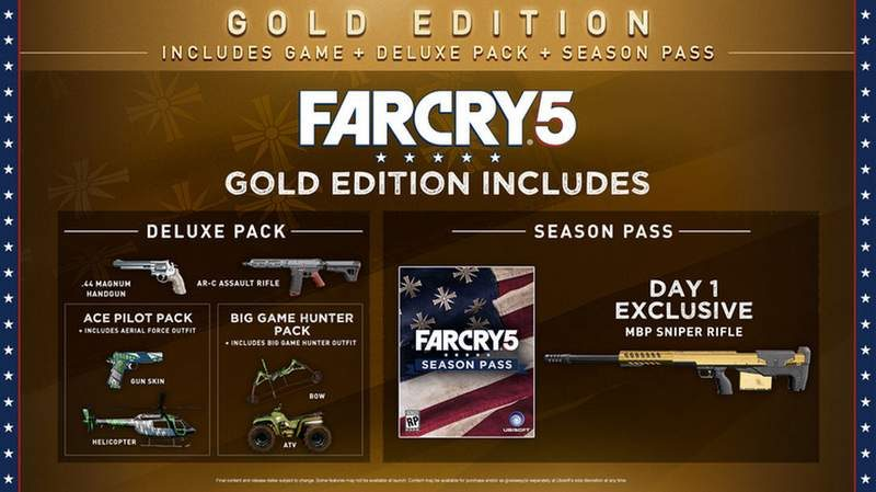 Far Cry 5 Big Game Hunter Pack