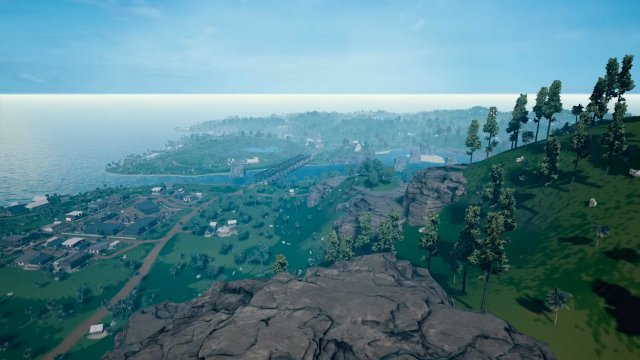 PUBG 4x4km Map Hills and Town Featured