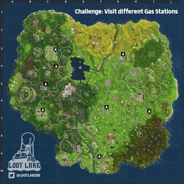 fortnite gas stations