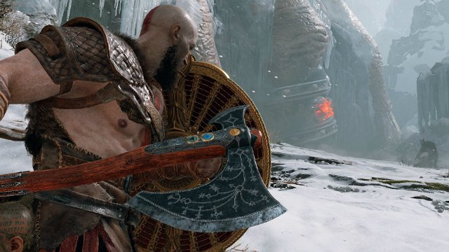 God of War 2018 Review Leviathan Axe and Shield