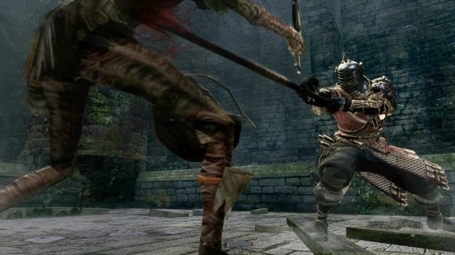 Dark Souls Remastered Review Stab