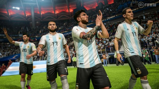 FIFA 18 World Cup Update