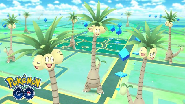 Pokemon Go 800 Million Downloads Alolan Exeggutor