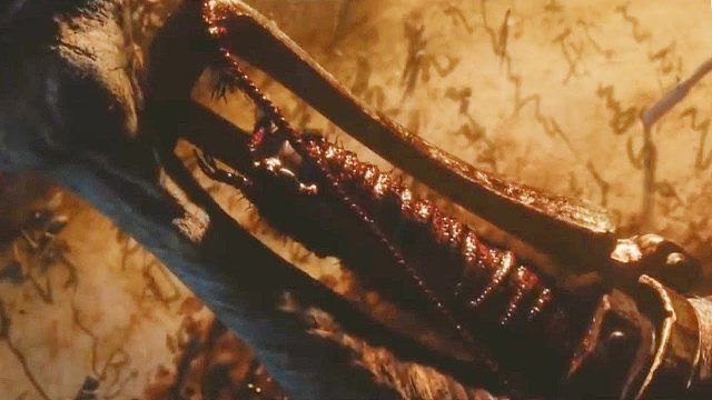 The femur from the trailer