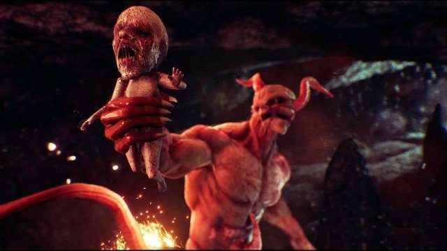 Agony Weird Baby, Beautiful Graphics, PS Plus