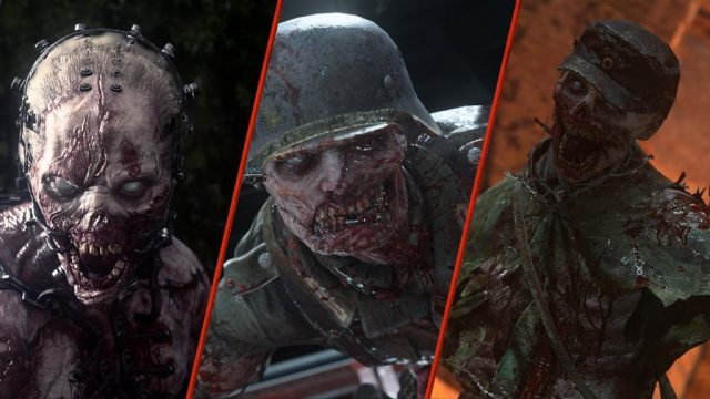 Call of Duty WW2 United Front Nazi Zombies