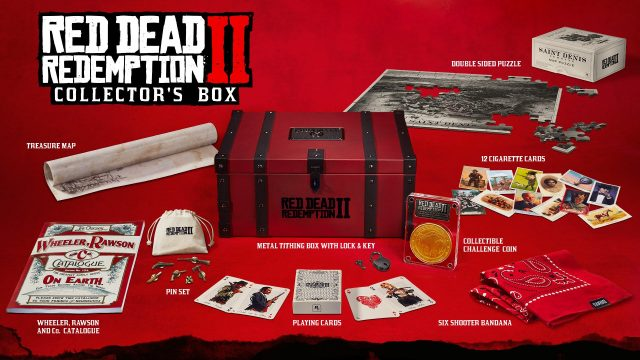 Red Dead Redemption Collectors Box