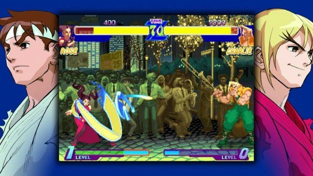 Street Fighter 30th Anniversary Collection Review Charlie