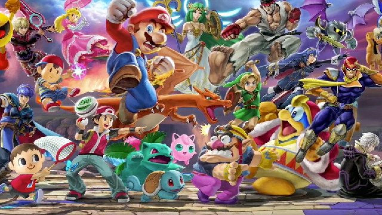 Super Smash Bros Ultimate Download Size for the Nintendo Switch Is