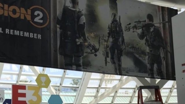 The Division 2 Promotional Banner E3 2018