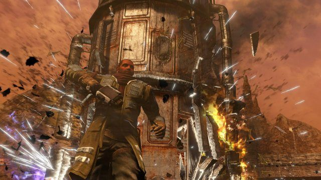 Red Faction Guerilla ReMARStered Another Building Explosion
