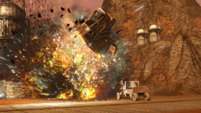 Red Faction Guerilla ReMARStered Building Explosion
