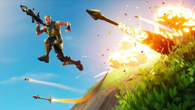 Search a Chest, Ammo Box and Supply DroP fortnite rocket launcher