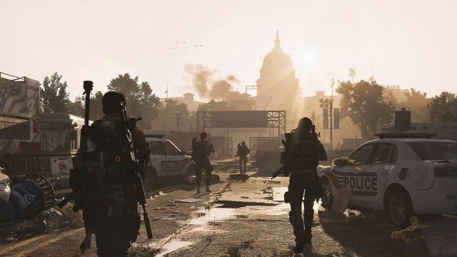 The Division 2 split-screen local co-op